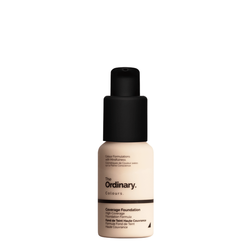 The Ordinary The Ordinary Coverage Foundation 1.1 N fair with netural undertones