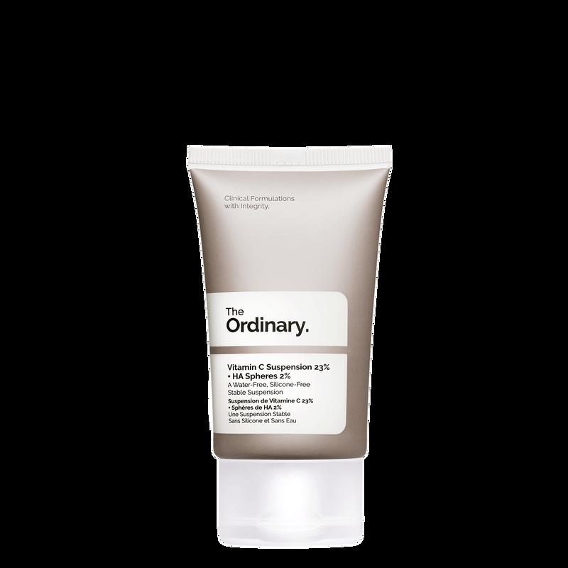 The Ordinary The Ordinary Vitamin C 23% Suspension + HA Spheres 2% pure L-Ascorbic Acid cream for brightening, uneven skin tone, and anti-aging