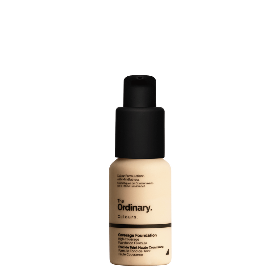The Ordinary The Ordinary Coverage Foundation 1.2 Y light with yellow undertones