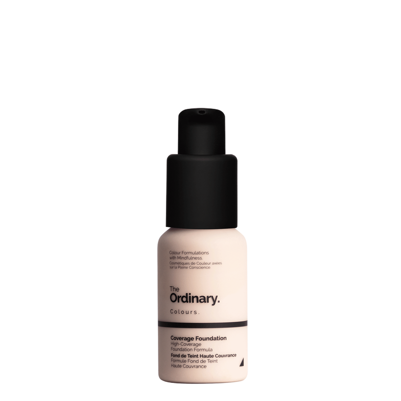 The Ordinary The Ordinary Coverage Foundation 1.0 P very fair with pink undertones
