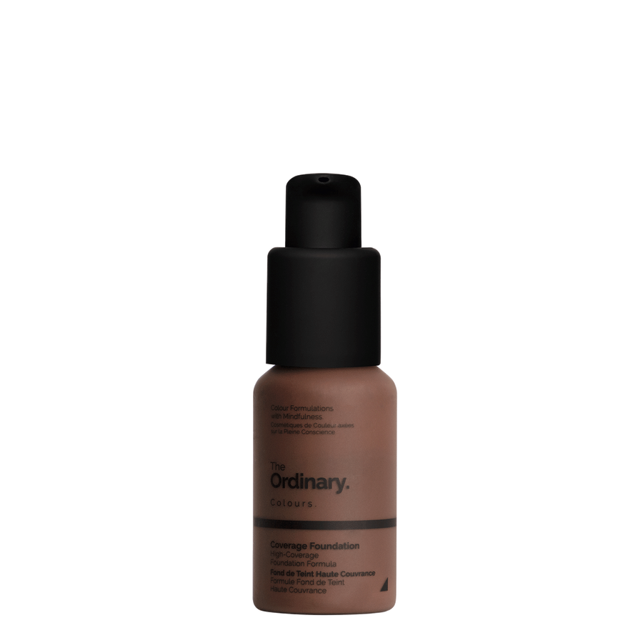 The Ordinary The Ordinary Coverage Foundation 3.3 N very deep with neutral undertones