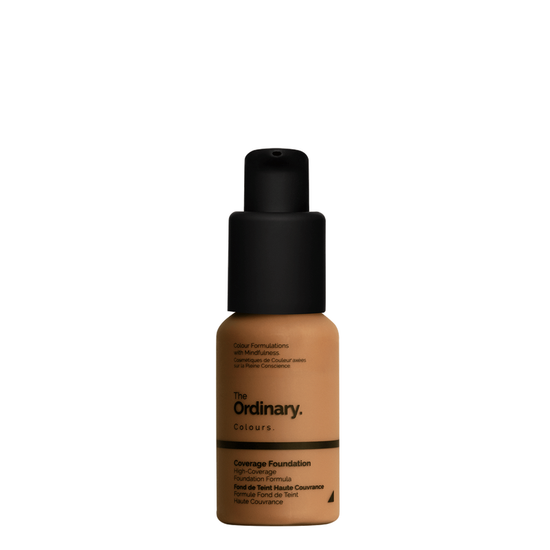 The Ordinary The Ordinary Coverage Foundation 3.1 Y dark with yellow undertones