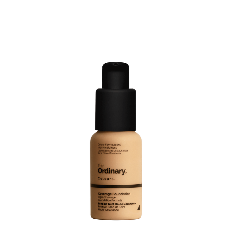The Ordinary The Ordinary Coverage Foundation 2.1 Y medium with yellow undertones
