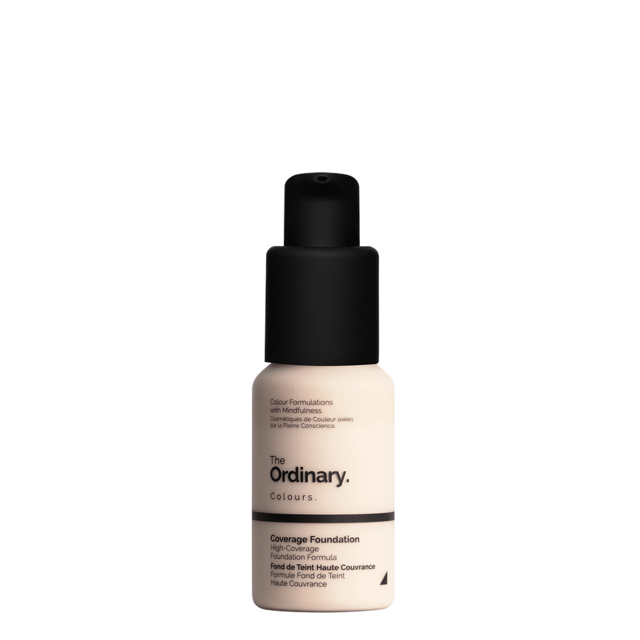 The Ordinary The Ordinary Coverage Foundation 1.0 N very fair with neutral undertones