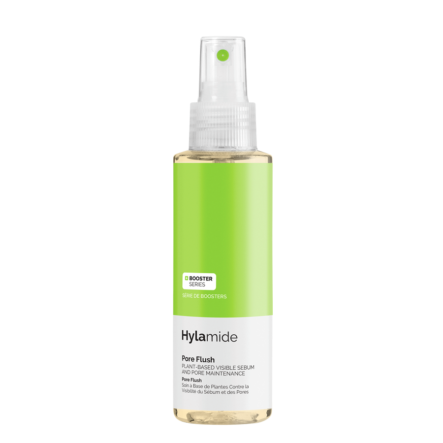 Hylamide Hylamide Pore Flush mist to combat shine, congestion, and visible appeaence of pores