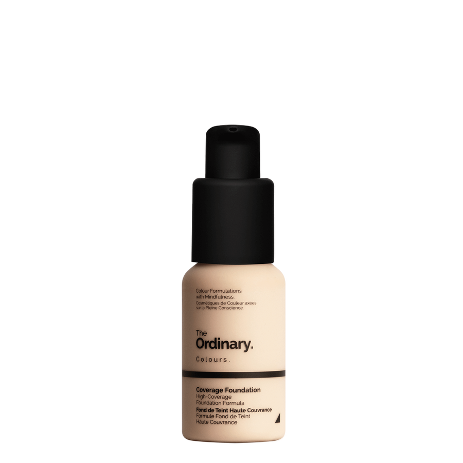 The Ordinary The Ordinary Coverage Foundation 1.2 N light with netural undertones
