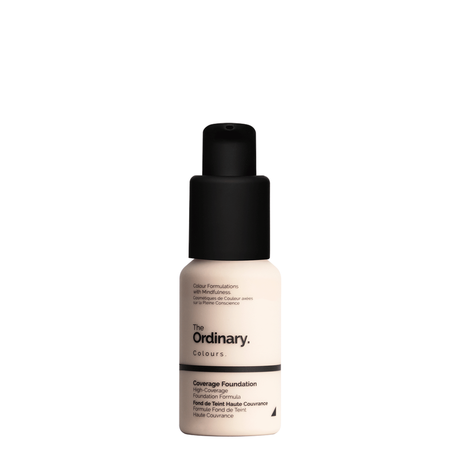 The Ordinary The Ordinary Coverage Foundation 1.0 NS very fair with neutral undertones and silver highlights